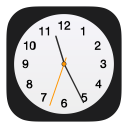 Apple Clock Icon