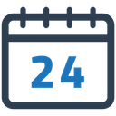 Calendar Appointment Date Icon