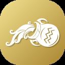 Aquariuscoin Cryptocurrency Crypto Icon