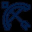 Archer Arrow Bow Icon