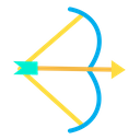 Arrow Bow Olympics Game Icon