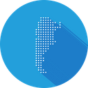 Argentina Country Location Icon