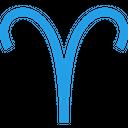 Aries Horoscope Astrology Icon