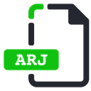 Arj File Compressed Icon