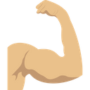 Muscle Power Strength Icon
