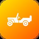 Army Car Jeep Icon