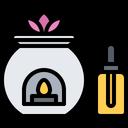 Candle Oil Aromatherapy Icon