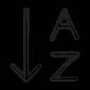 Arrange Alphabet Icon