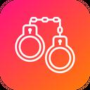 Arrest Crime Handcuffs Icon