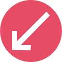 Arrow Arrows Down Icon