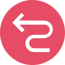 Arrow Arrows Zigzag Icon