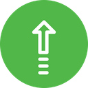 Arrow Direction Up Icon