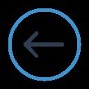 Arrow Left Circle Icon