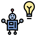 Artificial Intelligence Machine Icon