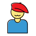 Artist Art Hat Icon