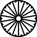 Ashoka chakra Icon