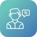 Customer Ask Discount Icon