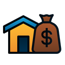 Assets House Money Icon
