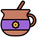 Atole Traditional Healthy Icon