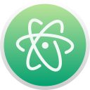 Atom Logo Brand Icon