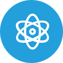 Atom Structure Science Icon