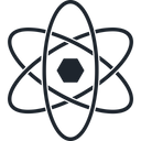 Atom Chemistry Molecule Icon