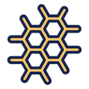 Atom Space Science Icon