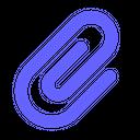 Attach Attachment Paperclip Icon