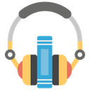 Audio Course Listening Music Online Learning Icon