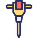Auger Dig Tool Drain Icon