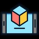 Augmented Reality Samartphone Icon