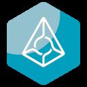 Augur Blockchain Coin Icon