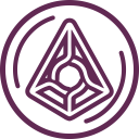 Augur Cryptocurrency Crypto Icon