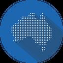 Australia Country Continent Icon