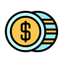 Australian Dollar International Money Icon