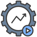 Automated Trading System Robot Icon