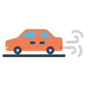 Automobile Car Carezhaust Icon
