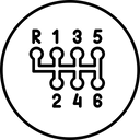 Car gear Icon