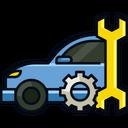 Automotive Car Service Hobby Icon