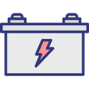 Automotive Battery Battery Charging Car Battery Icon