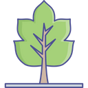 Autumn Foliage Leaf Icon