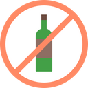 Avoid Ban Alcohol Icon