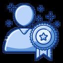 Award People Goal Icon