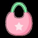 Baby Apron Baby Bib Bib Icon