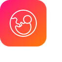 Baby Biology Healthy Icon