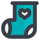 Baby Sock Icon