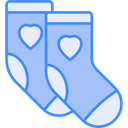 Baby Socks Socks Footwear Icon