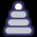 Baby Toy Block Stone Icon