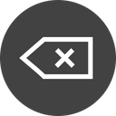 Back Exit Interface Icon