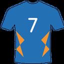 Backside Tshirt Cricket Tshirt Jersey Icon